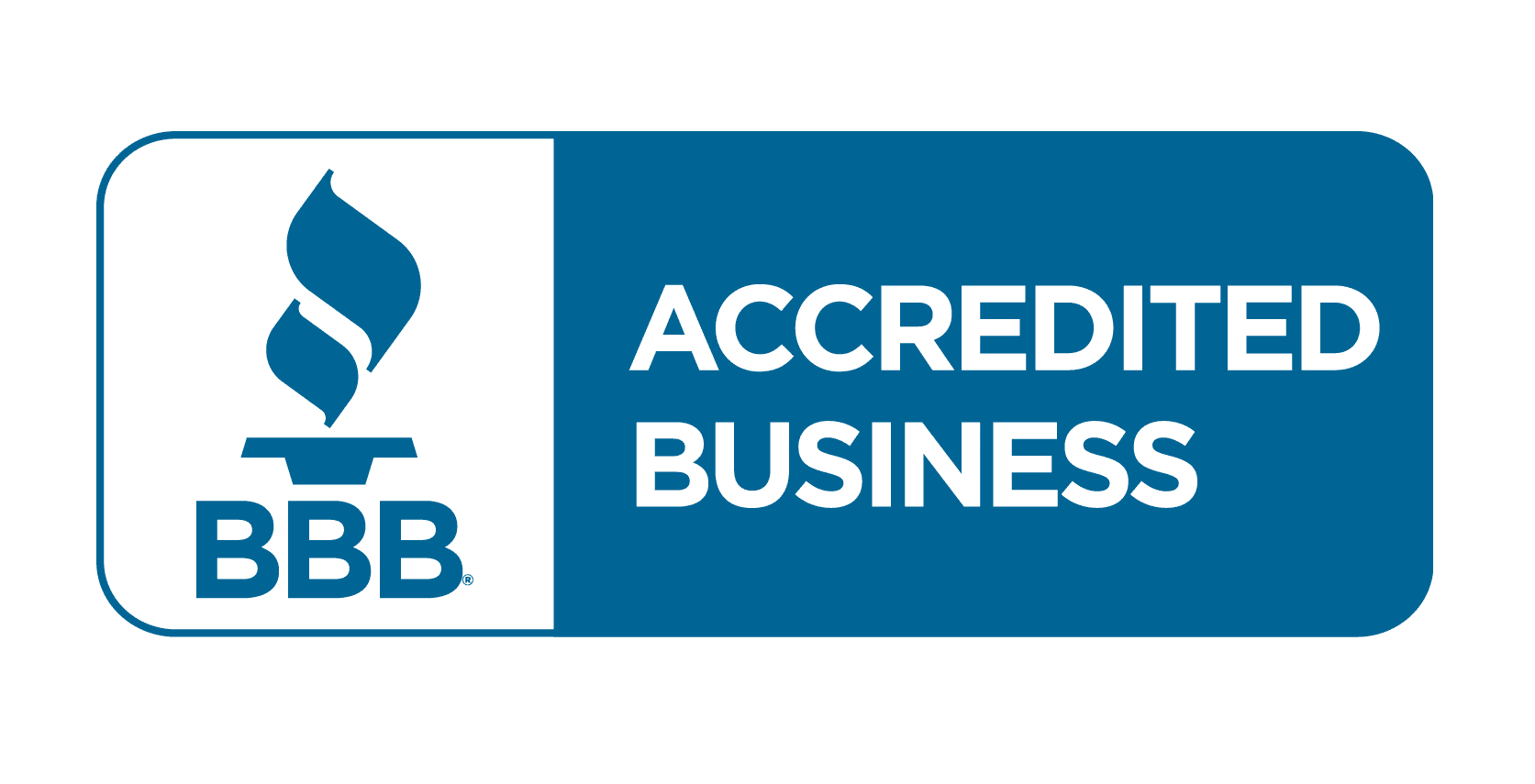BBB- logo accredited