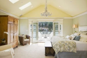 bedroom design and interior painting