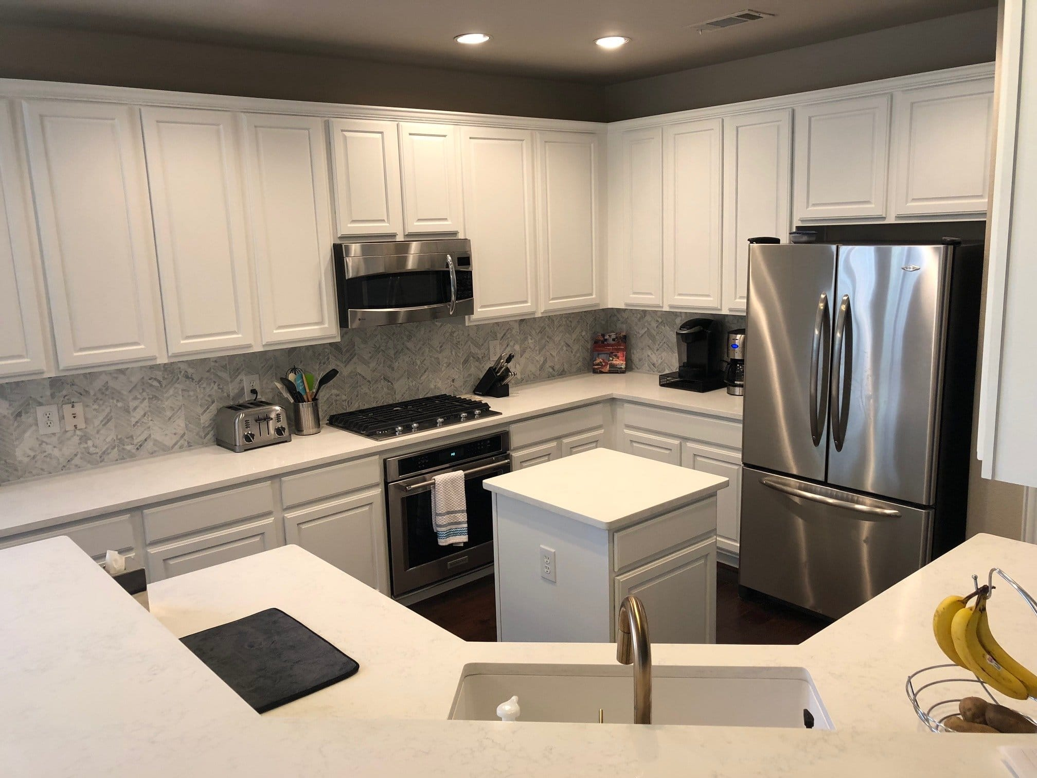 Cabinet Refinishing Painting Staining Collin County Tx