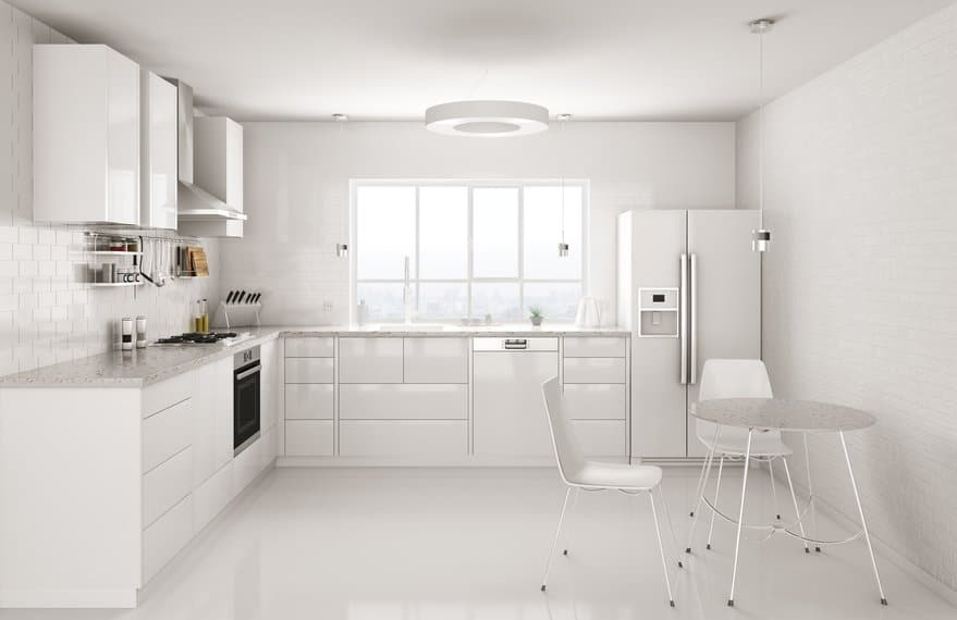 3 Important Reasons Why You Should Always Paint Kitchen Cabinets White